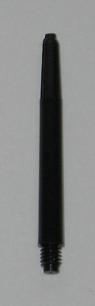 3 Sets (9 shafts) Nylon 2BA, BLACK SHORT Dart Shafts