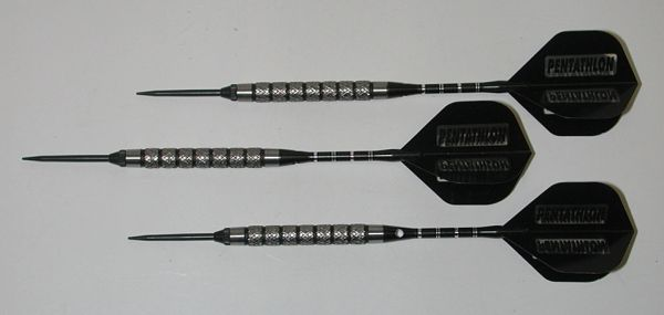 Xtreme 27 gram Steel Tip Darts - 90% Tungsten, Very Aggressive Grip