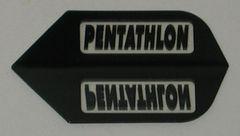 3 Sets (9 flights) BLACK Standard PENTATHLON Flights - 2002