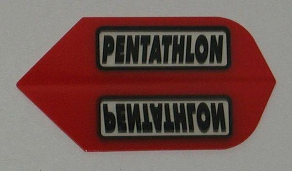 3 Sets (9 flights) RED Slim PENTATHLON Flights - 2200