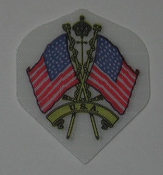 3 Sets (9 flights) US USA AMERICAN FLAGS Standard Nylon Flights - 1401