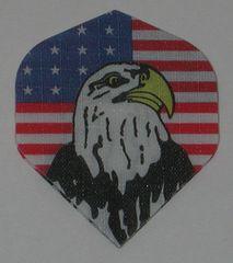 3 Sets (9 flights) US USA AMERICAN EAGLE Standard Nylon Flights - 1433