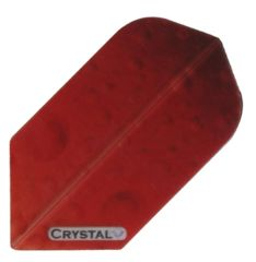 3 Sets (9 flights) Crystal RED Slim Ex-Tough Dart Flights
