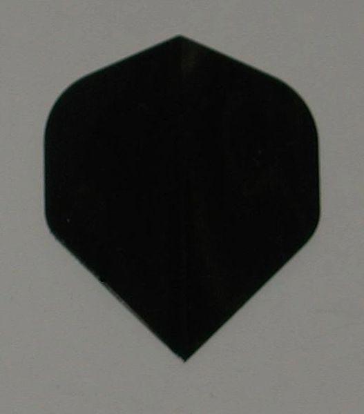 3 Set (9 flights) BLACK Standard Hard Dart Flights