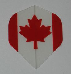 3 Set (9 flights) CANADA CANADIAN FLAG Standard Hard Dart Flights P519