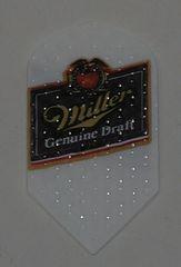 2 Set (6 flights) Miller Genuine Draft Slim Ebbossed Dart Flights