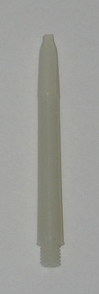 3 Sets (9 shafts) Nylon 2BA, WHITE EX-SHORT Dart Shafts