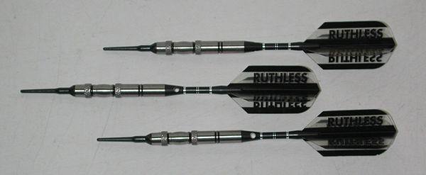 EXTERMINATOR 18 gram Soft Tip Darts - Agressive Grip 90% Tungsten Soft Tip Darts EX2-18