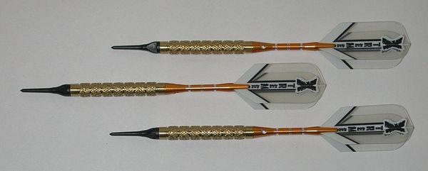 GOLDEN GRIP Professional 90% Tungsten Knurled Grip - 18 Gram - Style 2