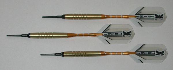 GOLDEN GRIP Professional 90% Tungsten Ringed Grip - 18 Gram - Style 5