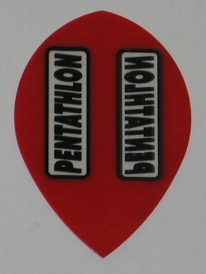 3 Sets (9 flights) RED Pear PENTATHLON Flights - 2100