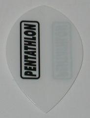 3 Sets (9 flights) WHITE Pear PENTATHLON Flights - 2101