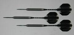Predator 26 gram Steel Tip Darts - 80% Tungsten, Tight Ringed Grip - Style TR