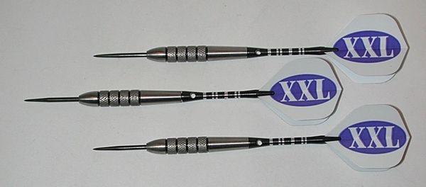 XXL 32 gram Steel Tip Darts - 80% Tungsten, Extra Heavy Darts - Add Extra Ummmmph to your game