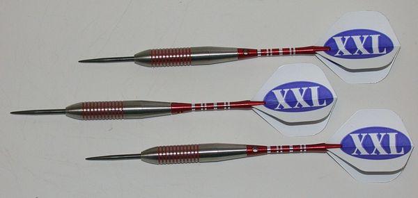 XXL 40 gram Steel Tip Darts - 80% Tungsten, Extra Heavy Darts - Add Extra Ummmmph to your game