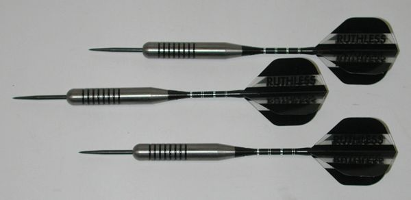XXL 34 gram Steel Tip Darts - 80% Tungsten, Extra Heavy Darts - Add Extra Ummmmph to your game