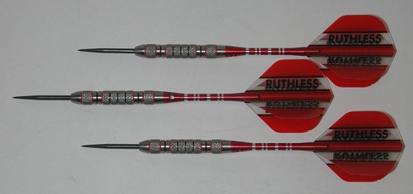 FUZION 20 gram Steel Tip Darts - 90% Tungsten, Contoured Grip