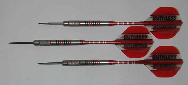 FUZION 25 gram Steel Tip Darts - 90% Tungsten, Front Knurled Grip