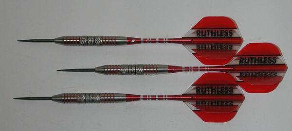 FUZION 28 gram Steel Tip Darts - 90% Tungsten, Center Knurled Grip