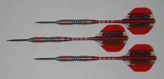 EVO 22 gram Steel Tip Darts - 80% Tungsten, Contoured Grip