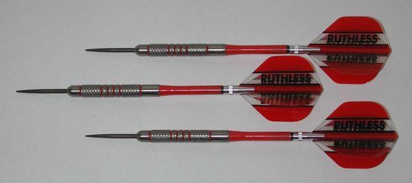 POWERGLIDE 18 gram Steel Tip Darts - 80% Tungsten, Knurled Grip -Style 1