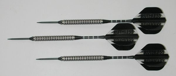 Xtreme 24 gram Steel Tip Darts - 90% Tungsten, Aggressive Grip