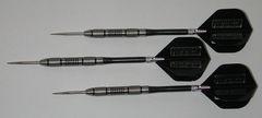 POWERGLIDE 24 gram Steel Tip Darts - 80% Tungsten, Contoured Grip -Style 9