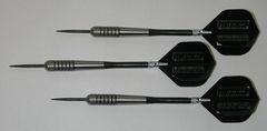 POWERGLIDE 25 gram Steel Tip Darts - 80% Tungsten, Front Knurled Grip -Style 12
