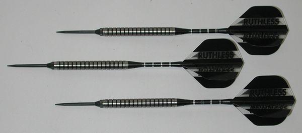Xtreme 26 gram Steel Tip Darts - 90% Tungsten, Ringed Grip