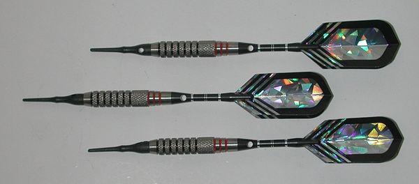 XTREME EG 18 gram Soft Tip Darts - 80% Tungsten - Style 1