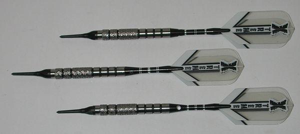 XTREME R1x 18 gram Soft Tip Darts - 90% Tungsten - Style 1 - Aggressive Grip