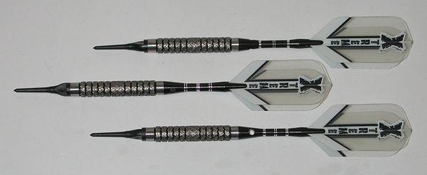 XTREME R1x 16 gram Soft Tip Darts - 90% Tungsten - Style 2 - Aggressive Grip