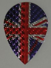 3 Sets (9 flights) Dimplex Pear UNION JACK Flights - 404P
