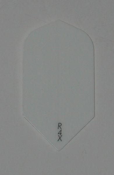 3 Sets (9 flights) Ruthless R4X Slim WHITE Flights - 1641