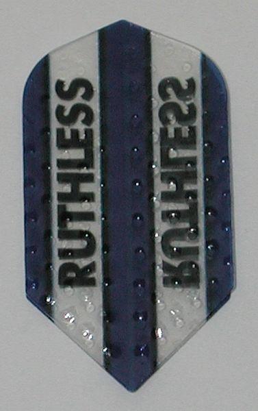 3 Sets (9 flights) Ruthless Embossed Slim BLUE Flights - 4353