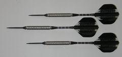 Predator 21 gram Steel Tip Darts - 90% Tungsten, Aggressive Grip - Style 3