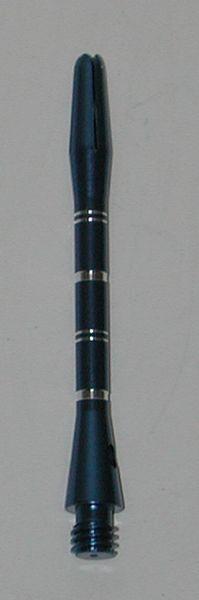 3 Sets (9 Shafts) Aluminum Striped Shafts - BLUE - Long - AR1, Colormaster