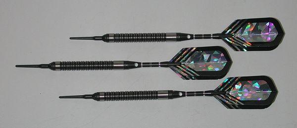 PREDATOR 18 gram Soft Tip Darts - Tight Ringed 90% Tungsten - Convertible - Steel/Soft Tip Darts