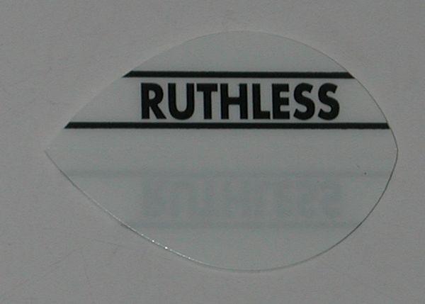3 Sets (9 flights) Ruthless Pear WHITE Flights - 1751