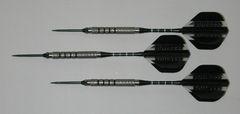Predator 21 gram Steel Tip Darts - 90% Tungsten, Aggressive Grip - Style 6