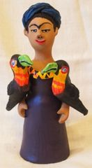 Frida Kahlo with Parrots - SOLD