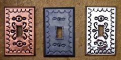 Tin Switch Plate - single