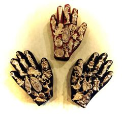 Hands with Milagros