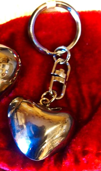 Heart Chime Keyring