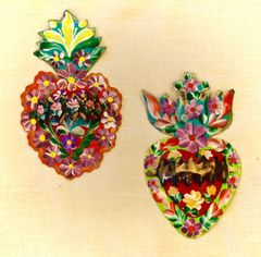 Victorian Style Sacred Hearts
