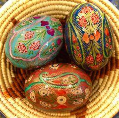 Kashmir Eggs - Paisley