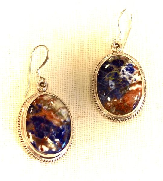 Agate Earrings - Earth