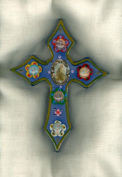 Gothic Saints Cross