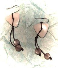 Belladonna Tagua Earrings