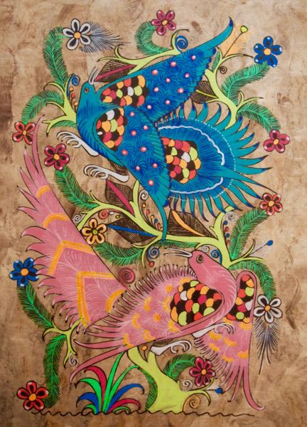 Amate Painting - Brights